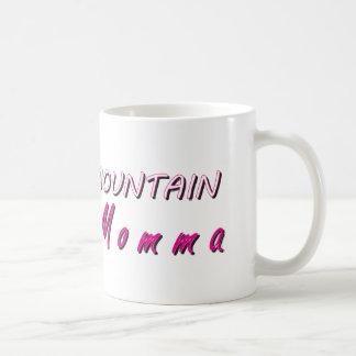 Proud Bernese Mountain Momma Bone Coffee Mug