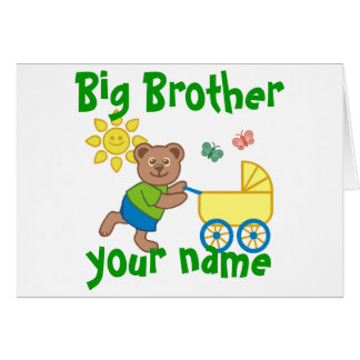 Proud Big Brother Card