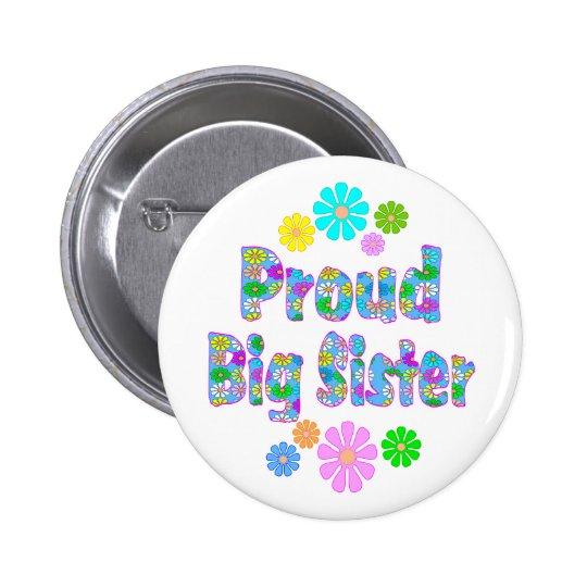 Proud Big Sister Button