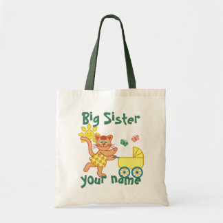 Proud Big Sister Tote Bag