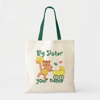 Proud Big Sister Tote Bag