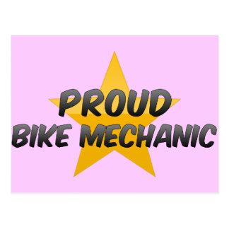 Proud Bike Mechanic Postcard
