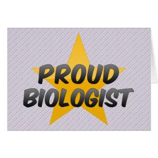 Proud Biologist Card