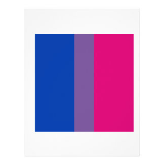 Proud Bisexual Personalized Flyer