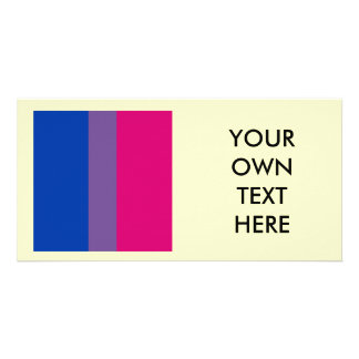 Proud Bisexual Photo Greeting Card