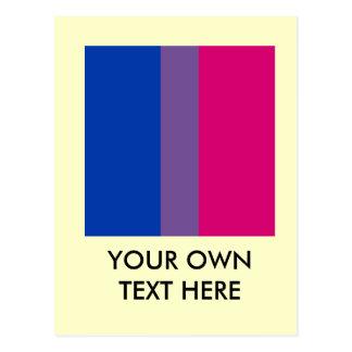 Proud Bisexual Post Card