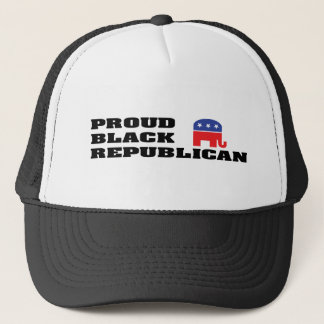 Proud Black Republican Trucker Hat
