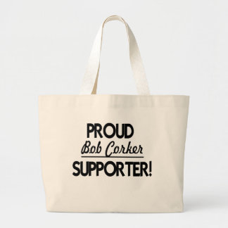 Proud Bob Corker Supporter! Canvas Bag