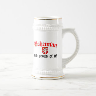 Proud Bohemian Beer Stein