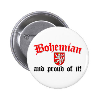 Proud Bohemian 2 Inch Round Button