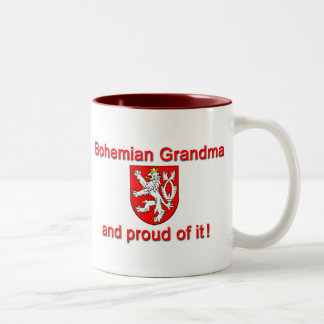 Proud Bohemian Grandma Coffee Mugs