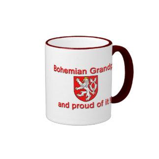 Proud Bohemian Grandpa Ringer Mug