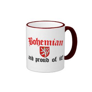 Proud Bohemian Ringer Mug