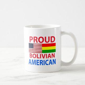 Proud Bolivian American Classic White Coffee Mug