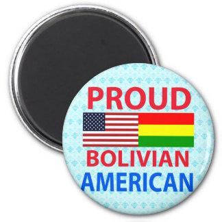 Proud Bolivian American Refrigerator Magnet