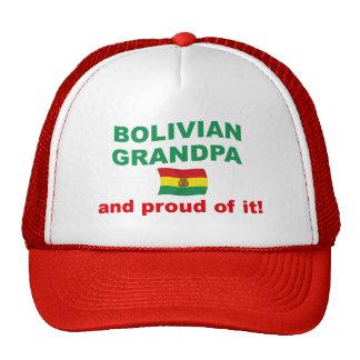 Proud Bolivian Grandpa Trucker Hat