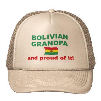 Proud Bolivian Grandpa Mesh Hat