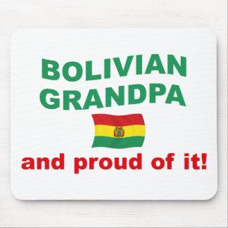 Proud Bolivian Grandpa Mouse Pad