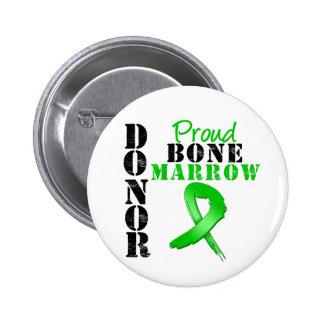Proud Bone Marrow Donor Button