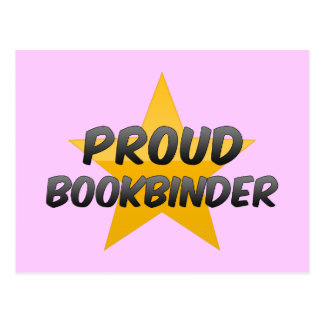 Proud Bookbinder Post Cards