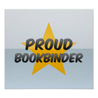 Proud Bookbinder Posters
