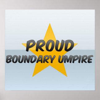 Proud Boundary Umpire Print