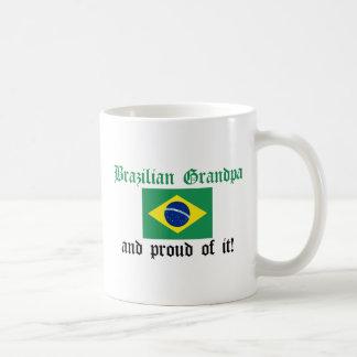 Proud Brazilian Grandpa Coffee Mugs