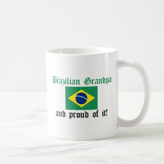 Proud Brazilian Grandpa Coffee Mug