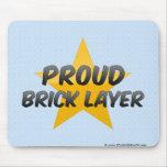 Proud Brick Layer Mouse Pad