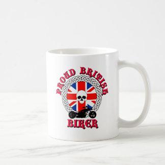 Proud British Biker Coffee Mug