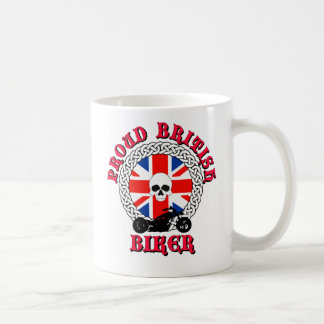 Proud British Biker Mug