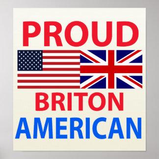 Proud Briton American Print