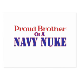 Proud Brother of a Navy Nuke Postcard