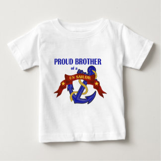 Proud Brother of a US Sailor Baby T-Shirt