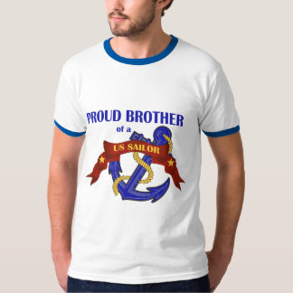 Proud Brother of a US Sailor T-Shirt
