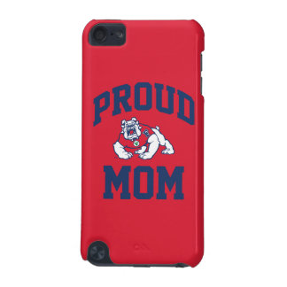 Proud Bulldog Family - Blue iPod Touch 5G Cover