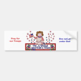 Proud bumpsticker bumper sticker