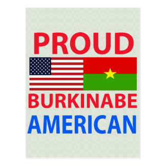 Proud Burkinabe American Post Cards