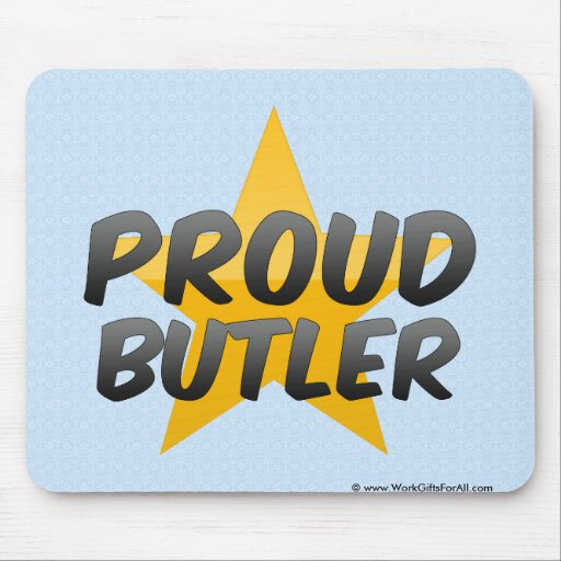 Proud Butler Mouse Pad