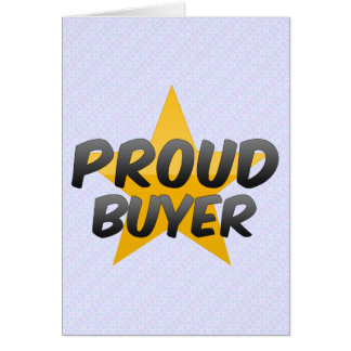 Proud Buyer Card