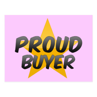 Proud Buyer Postcard