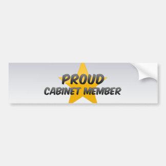 Proud Cabinet Member Bumper Stickers