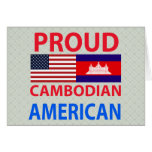Proud Cambodian American Cards