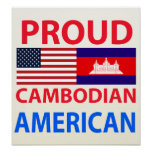 Proud Cambodian American Posters