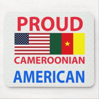 Proud Cameroonian American Mouse Pads