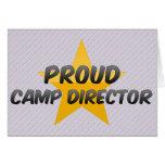 Proud Camp Director Card