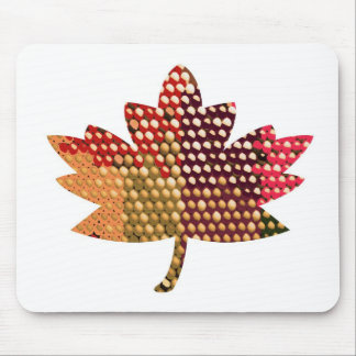 Proud CANADIAN :  Artistic MAPLE Leaf Design Mouse Pad