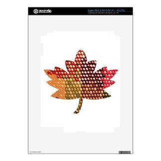 Proud CANADIAN Artistic MAPLE Leaf Design iPad 3 Skin