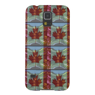 PROUD CANADIAN MAPLE LEAF Pattern Case For Galaxy S5