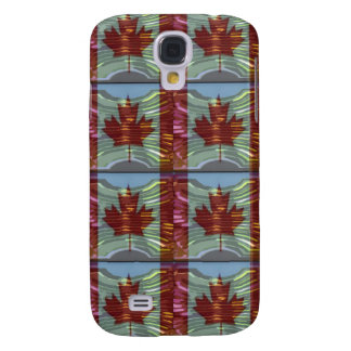 PROUD CANADIAN MAPLE LEAF Pattern Galaxy S4 Cover